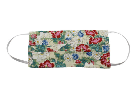 Kimono Floral Face Mask - Fine And Dandy