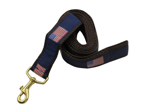 American Flag Dog Leash - Fine And Dandy
