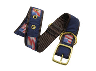 American Flag Dog Collar - Fine And Dandy