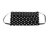 Black & White Polka Dot Face Mask - Fine And Dandy