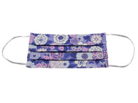 Purple & Pink Floral Face Mask - Fine And Dandy