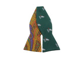 """Eager Beaver"" & Paisley Reversible Bow Tie - Fine And Dandy"