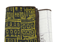 City Planner Panelled Pocket Square - Fine And Dandy