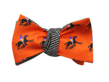 Orange Equestrian & Glen Plaid - Fine And Dandy