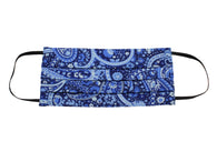 Bandana Print Face Mask - Fine And Dandy