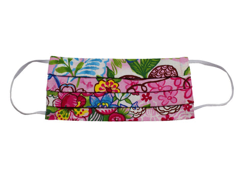 Graffiti Floral Face Mask - Fine And Dandy