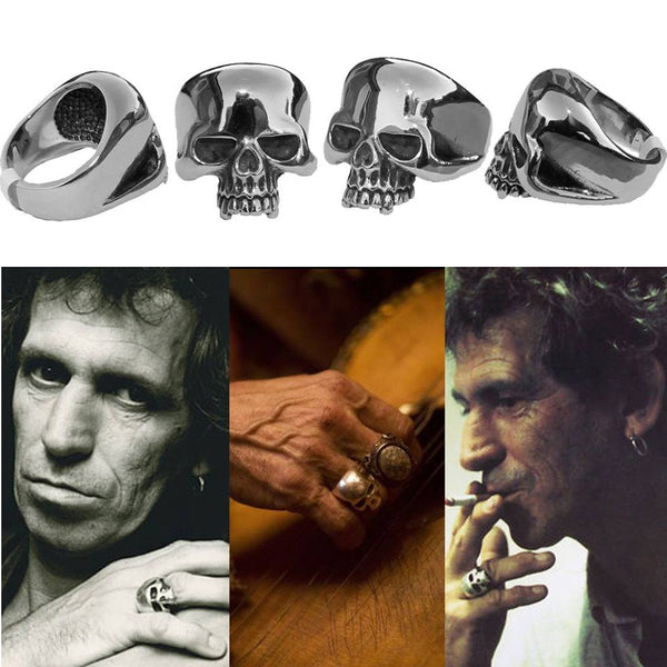LIMITED Keith Richards Skull Ring (OLDSCHOOL) FREE SHIPPING