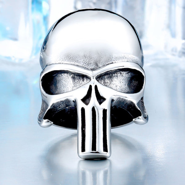 EXCLUSIVE LIMITED HANDMADE PUNISHER RING [FREE SHIPPING]