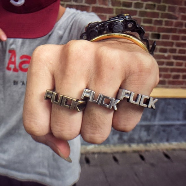 Don't Give Me A Fcvk Ring [Free Shipping}