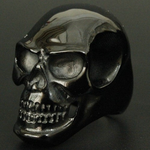 EXCLUSIVE HIGH QUALITY 316L STAINLESS STEEL BIKER SKULL RING