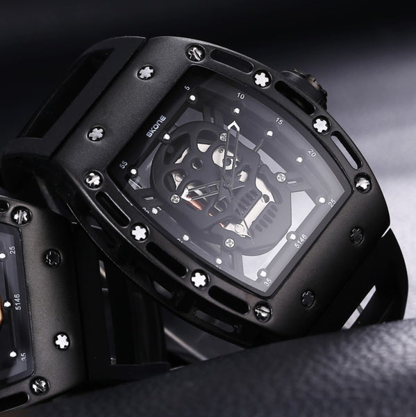 3D BIOMECHANIC SKULL WATCH