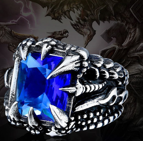 LIMITED EXCLUSIVE ORCALLO DIAMOND DRAGON CLAW RING [FREE SHIPPING]