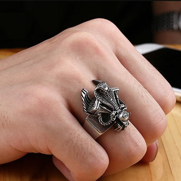 LIMITED ORCALLO COBRA RING [FREE SHIPPING]