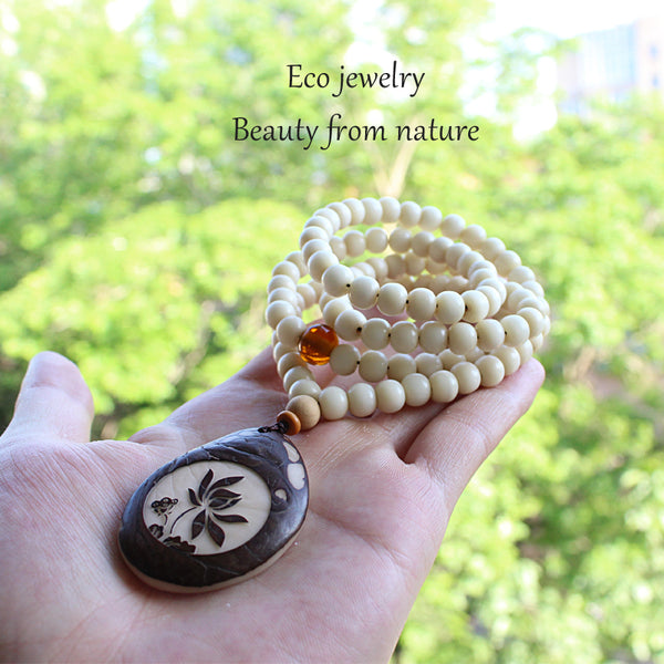 Ivory Nut Necklace