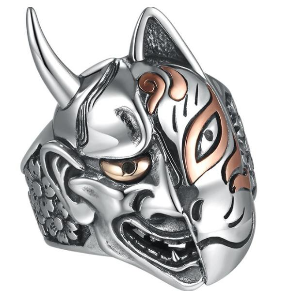 Japanese Demonic Hannya Ring