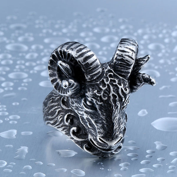 2018 High Quality Tibetan Antelope Ring