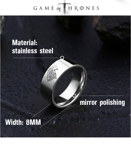 ORCALLO GAME OF THRONES SPECIAL EDITION RING