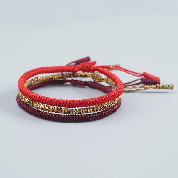 Multi Color  Buddhist  Tibetan Bracelet