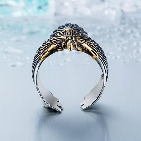 2018 USA Biker Eagle Ring
