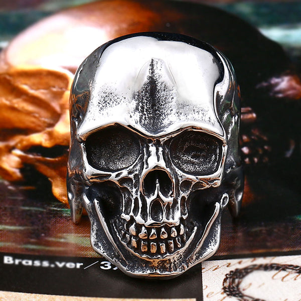 Cool Undead Skull Ring