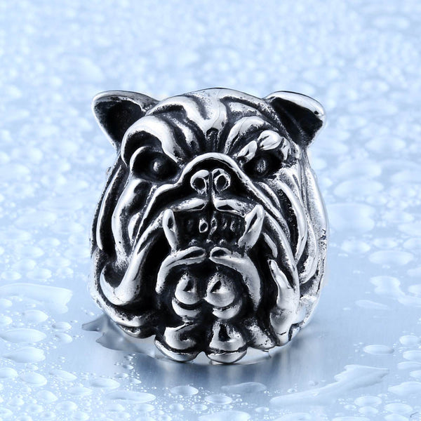 LIMITED BADASS BULL DOG RING ORCALLO VERSION [FREE SHIPPING]