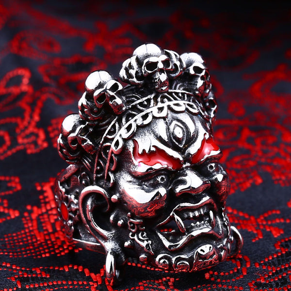 LIMITED EDITION YAMANTAKA : DESTROYER OF THE GOD OF DEATH RING [FREE SHIPPING]