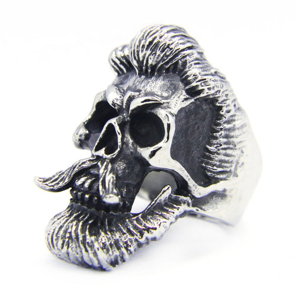 LIMITED Badass Beard Skull Ring [ Free Shipping ]