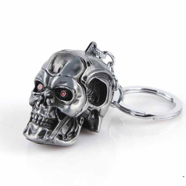 Metal Immortality Terminator Key Ring