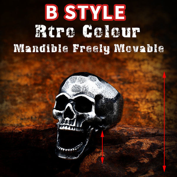 ORCALLO LIMITED HANDMADE OLDSCHOOL SKULL RING VER 2.0 [Free Shipping]