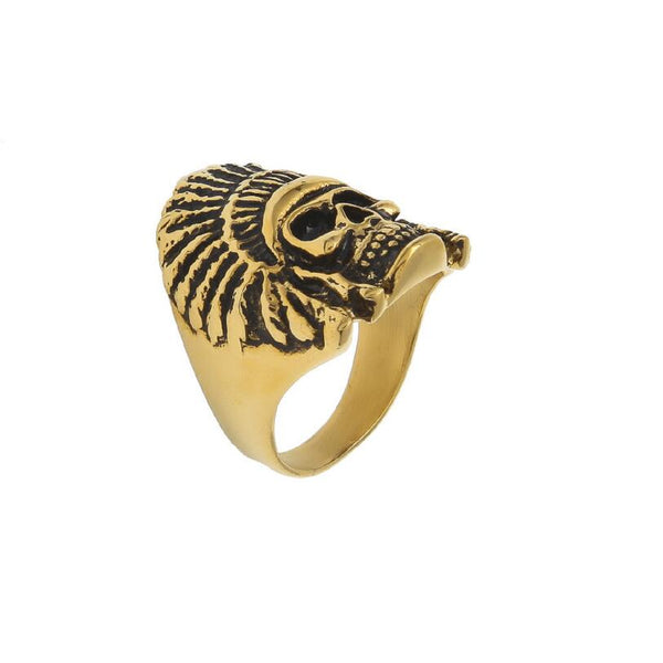 Indigenous Native Indian Chief Ring