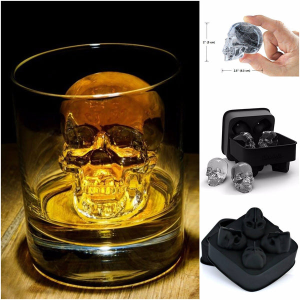 Limited 3D Skull Ice Cube Mold