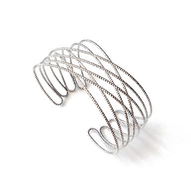 Criss Cross Lightweight Cuff Bracelet