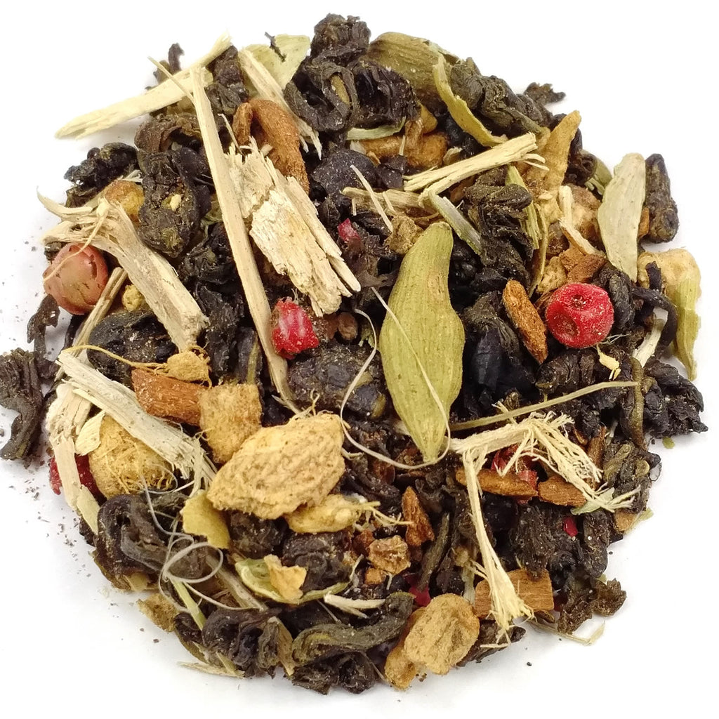 Green Tea Ginger Ginseng Chai