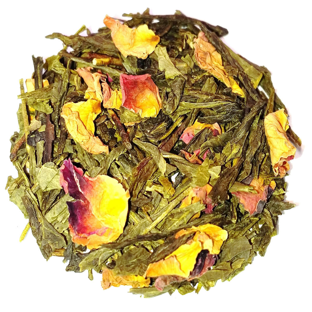 Green Tea Sencha Cherry Rose