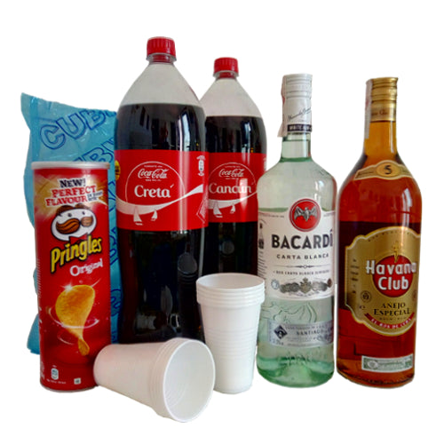 2l Rum Set Delivery with drinks south of Gran Canaria delivery