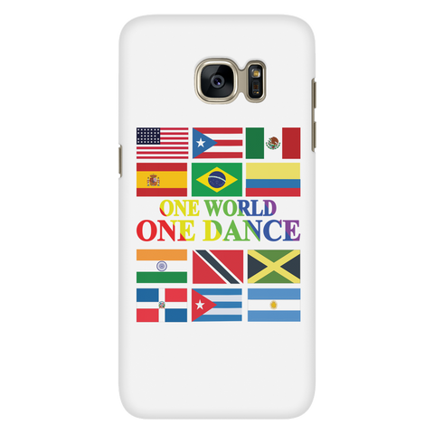 One World, One Dance Galaxy S7 Phone Case