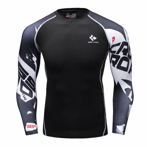 Crossfit Workout Compression Shirt