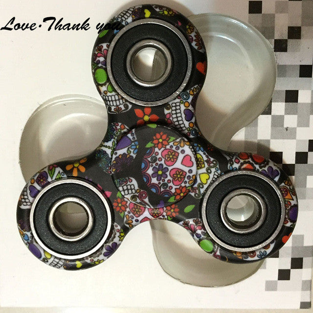 Metal Hands Camo Fidget Spinner