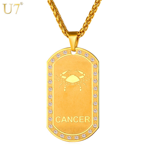 (Exclusive Item!) Golden Zodiac Pendants