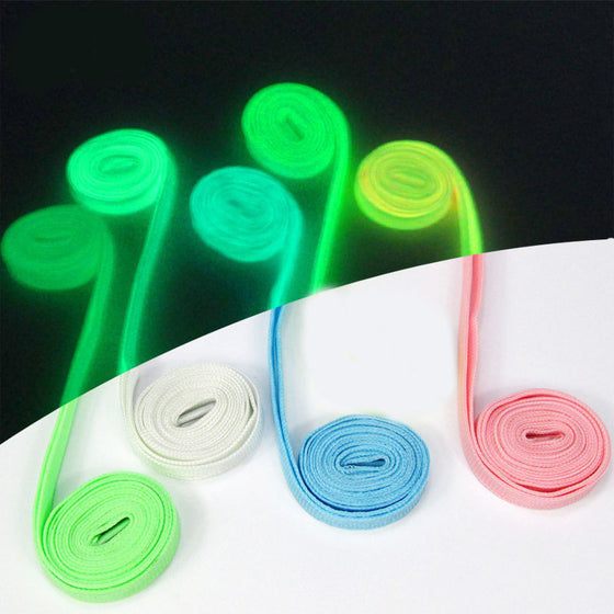 Luminous Glow In The Dark Sport Shoelace Strings