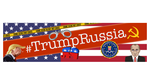 Trump Russia Bumper Sticker - Free Shipping!