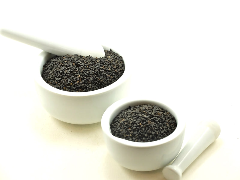 Sesame Seeds, Black Whole