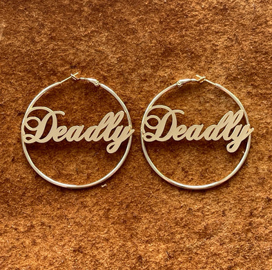Surgical Steel Hoops - Deadly
