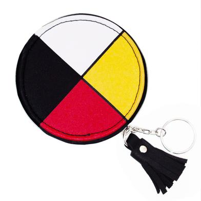 Coin Purse - Medicine Wheel