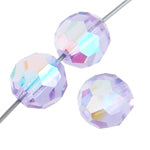 3 mm Crystal Bead - Violet AB