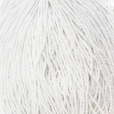 Preciosa Seed 11/0 - Chalk White Opaque