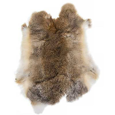 Rabbit Fur - Light Brown