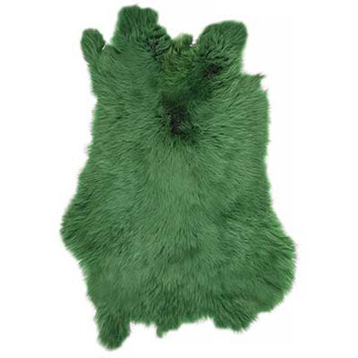 Rabbit Fur - Green