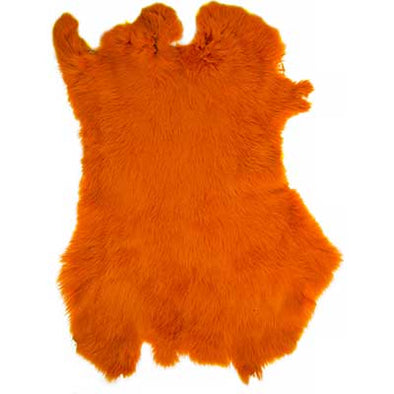 Rabbit Fur - Orange