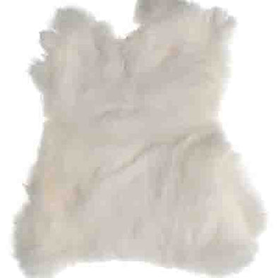 Rabbit Fur - White